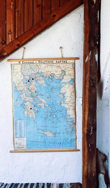 Adventure Greek map